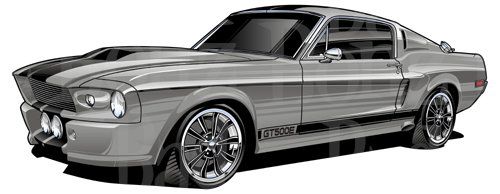 Ford mustang eleanor.