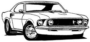 10 ford mustang.