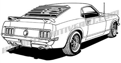 1970 ford mustang.