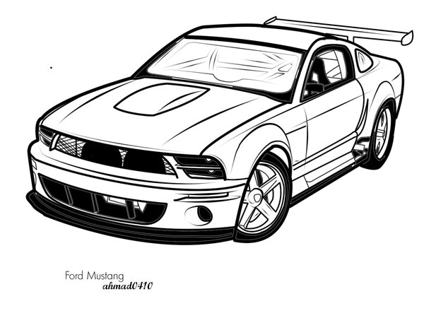 Free ford mustang.