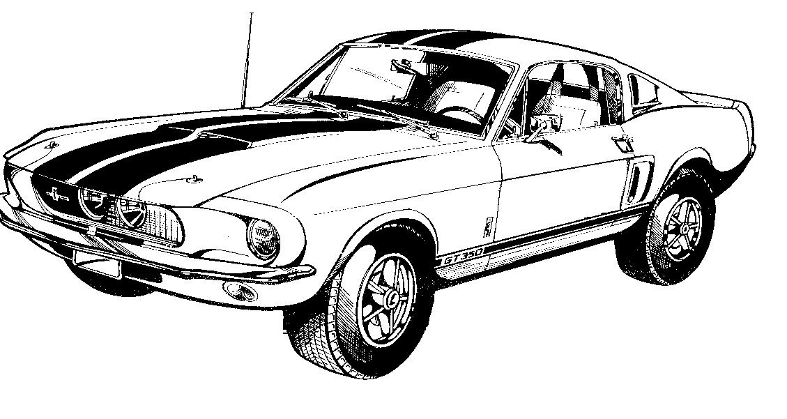 Ford mustang clip.