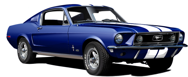 Clipart ford mustang.