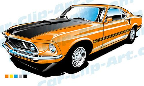1969 ford mustang.