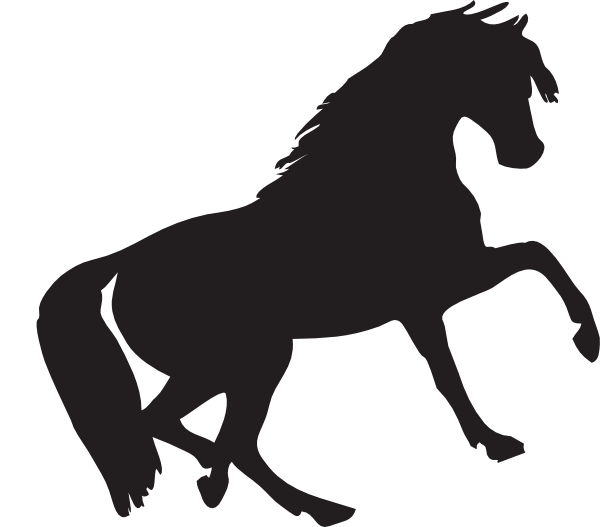 Mustang clipart svg.