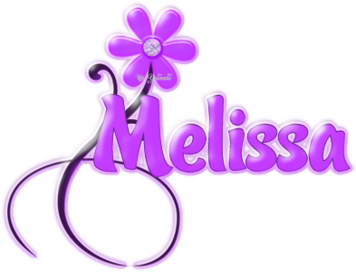 Melissa Names Layouts
