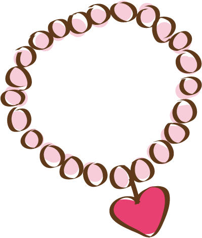 Necklace Cartoon Png Clipart