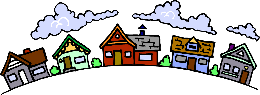 Free neighborhood cliparts.