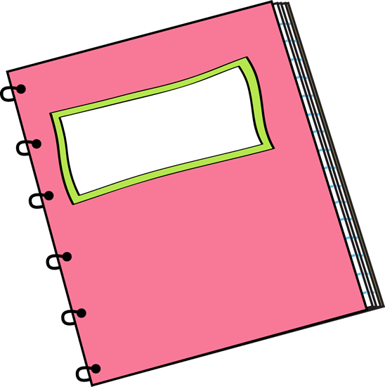 Free notebook cliparts.