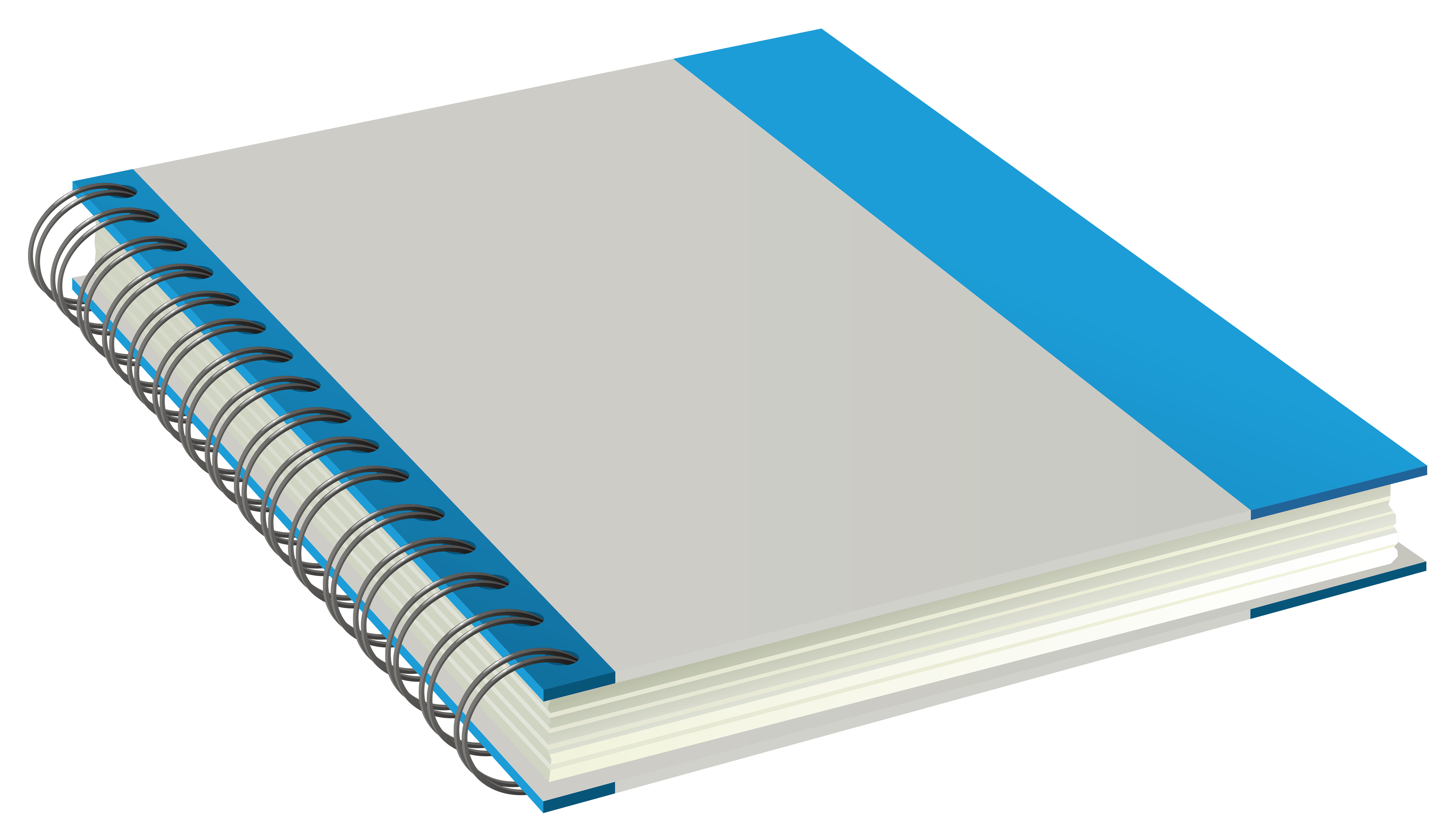 Notebook PNG Vector Clipart