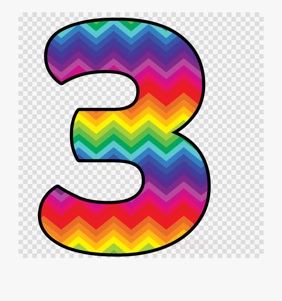 Number clipart chevron.