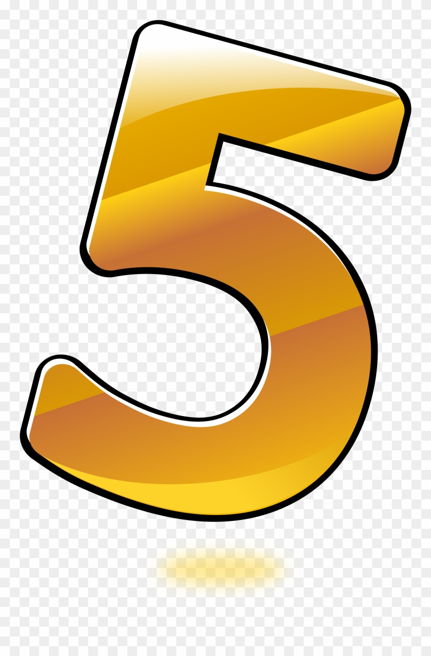 Numbers clipart five.