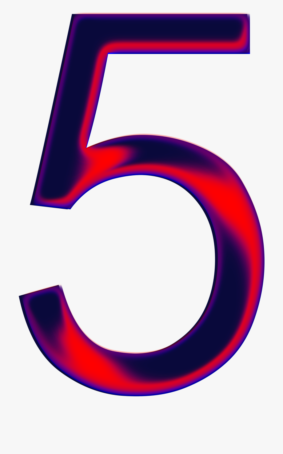 Number five cliparts.