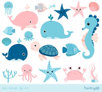 Cute sea animal.