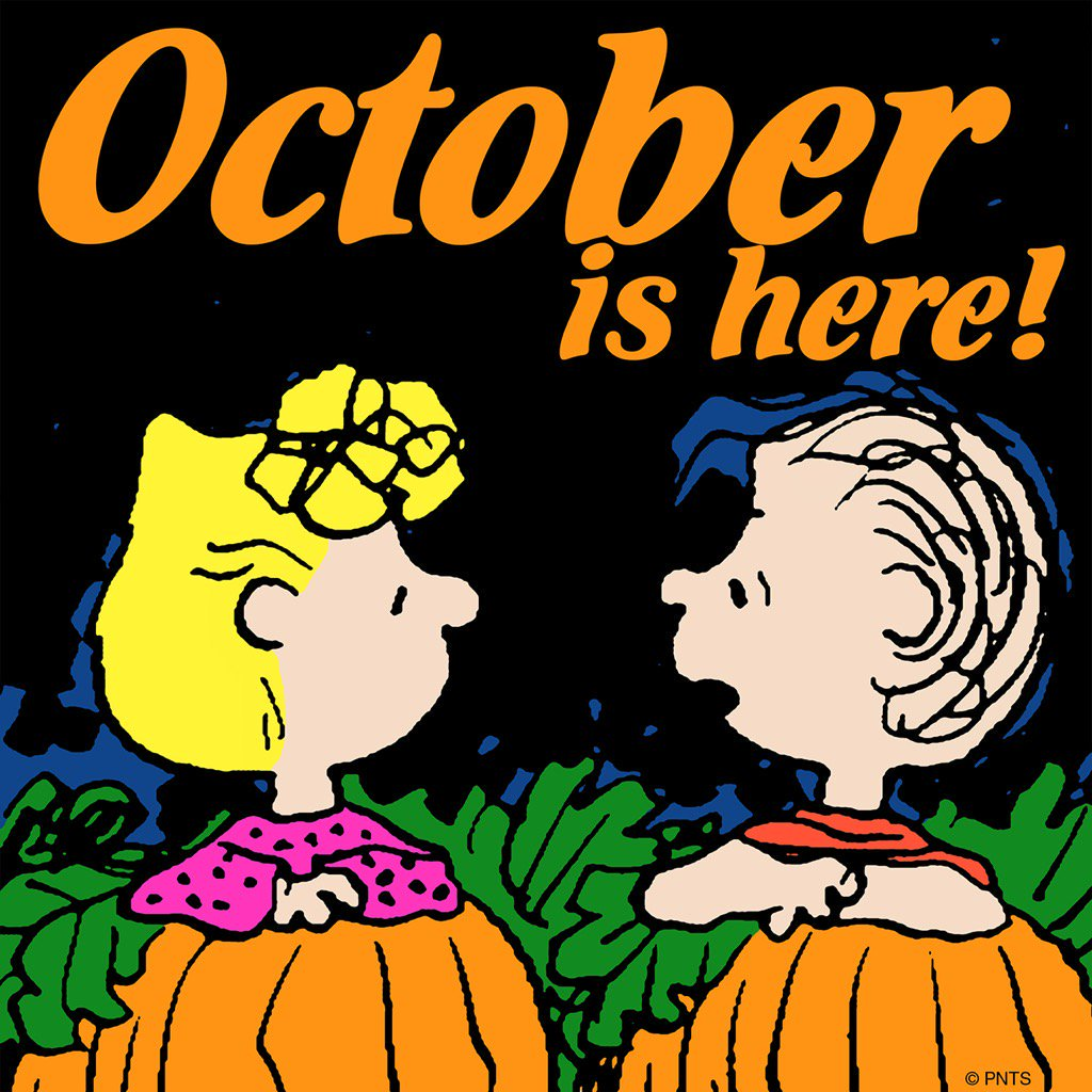 Peanuts twitter happy.