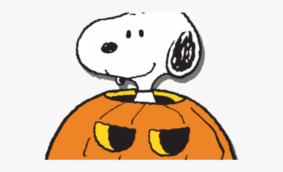 Snoopy clipart october.
