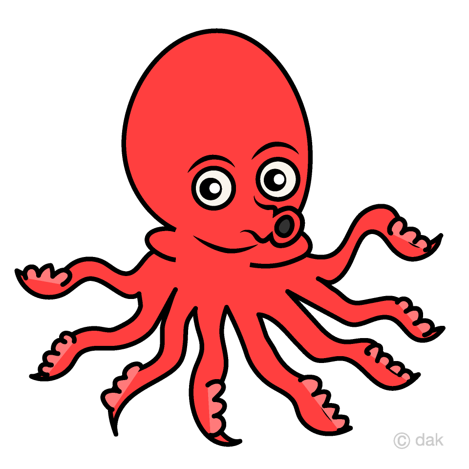 Octopus Clipart Free Picture