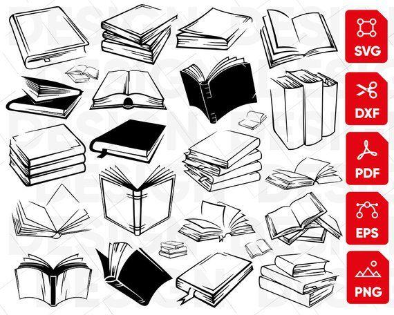 Open book svg.