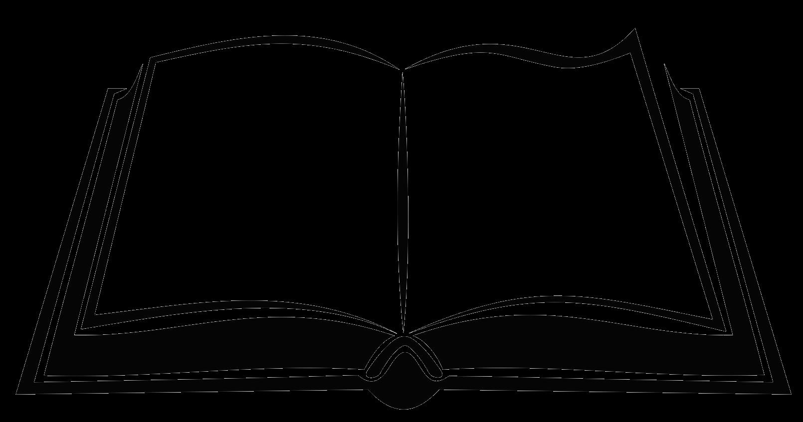 Book silhouette royaltyfree.