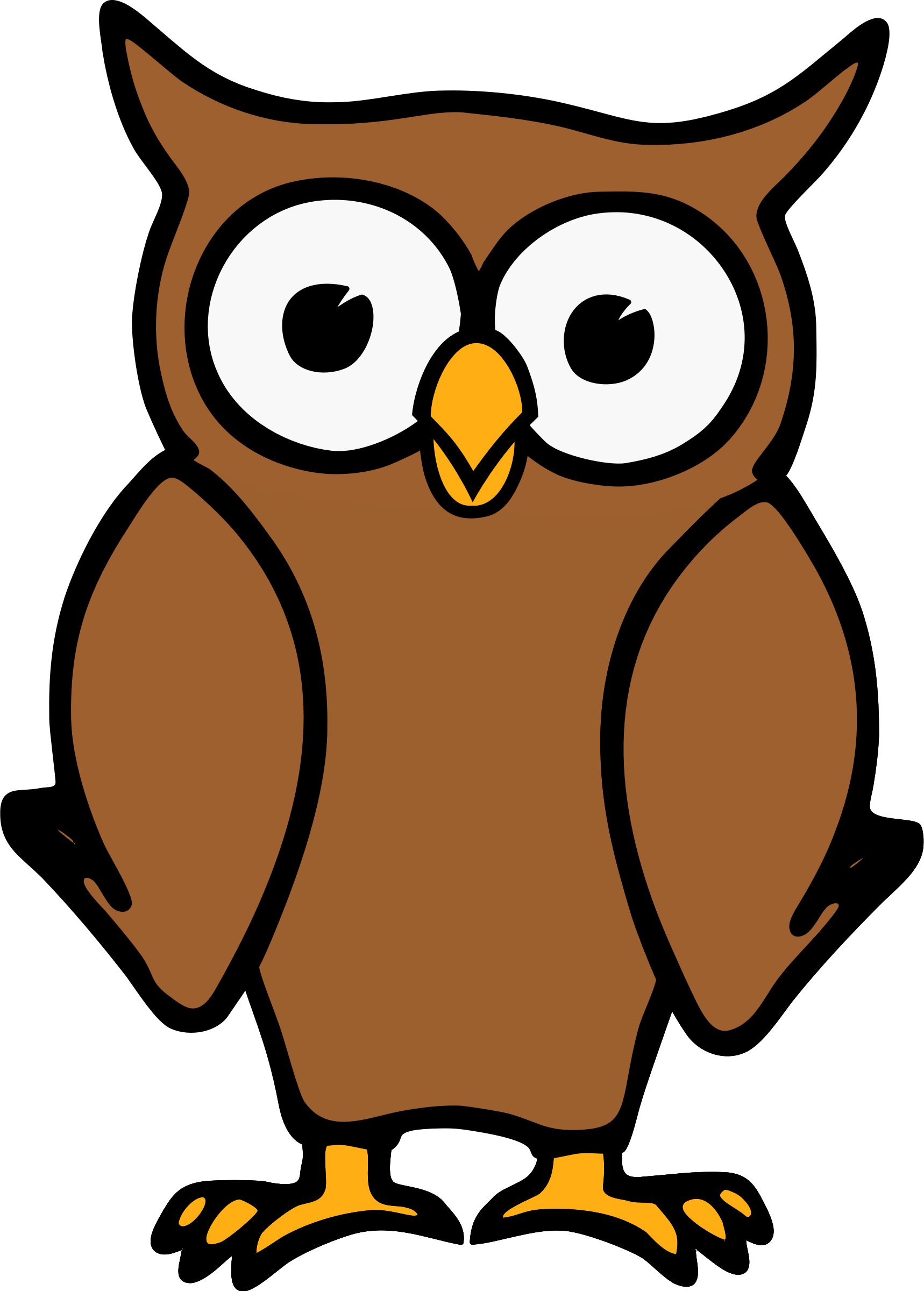Owl etourist brown.