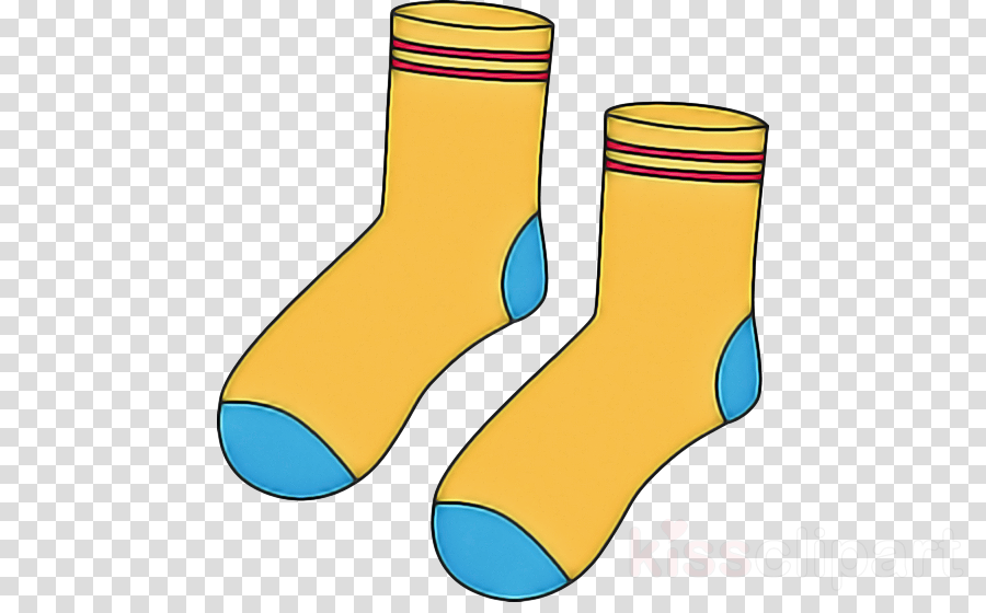 Shoe sock clothing.