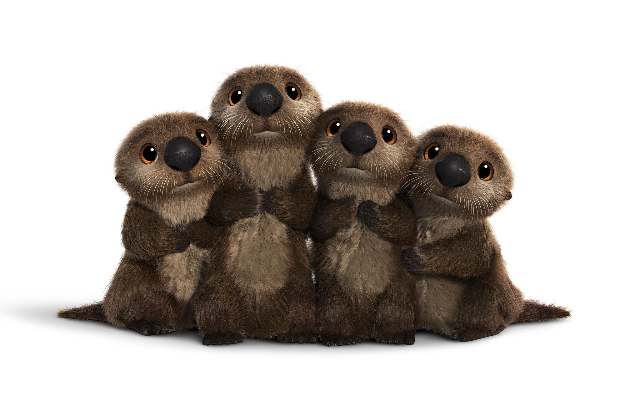 Otters disney wiki.