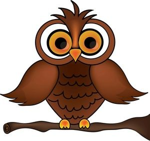 Owl clipart image.
