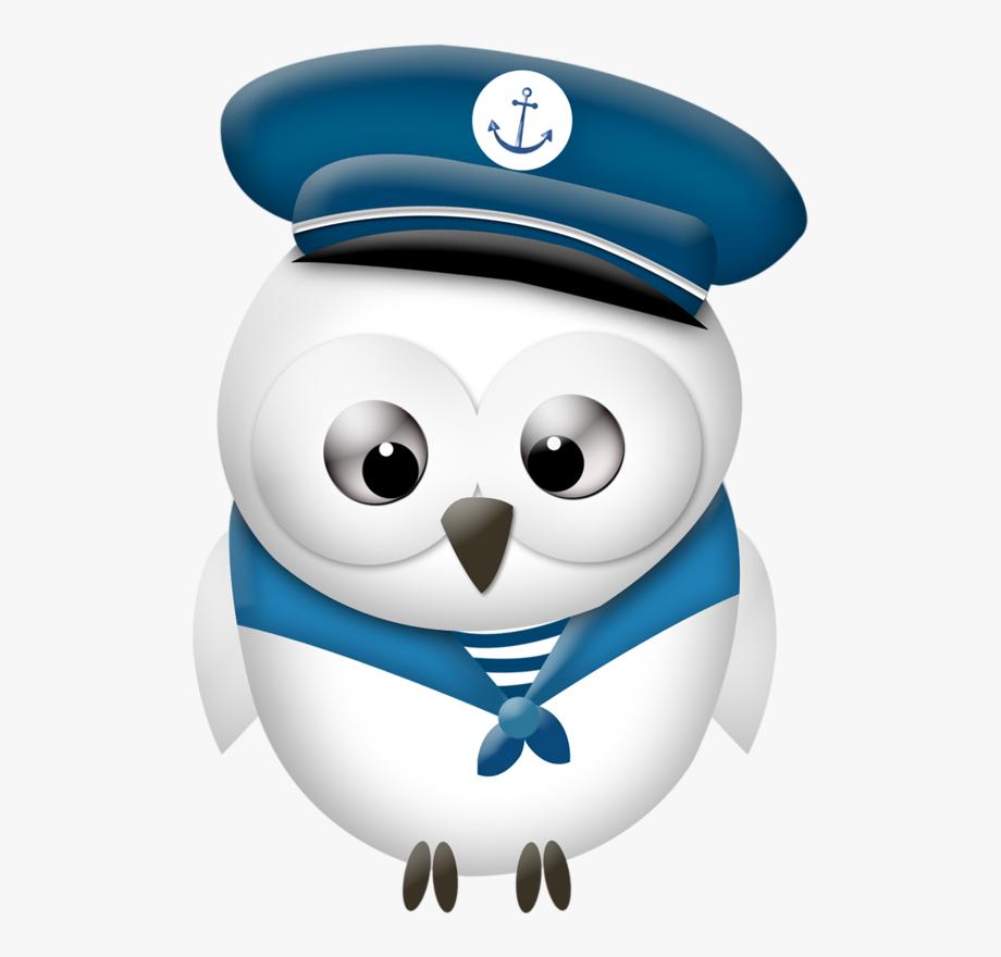 Nautical Sailor Owl