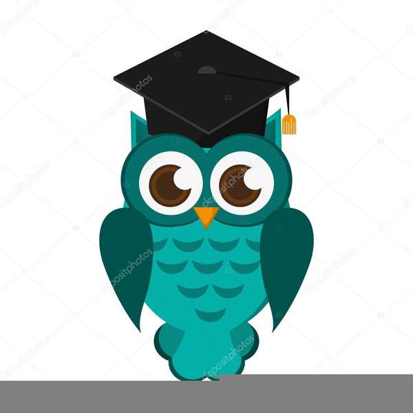Clipart owl with.