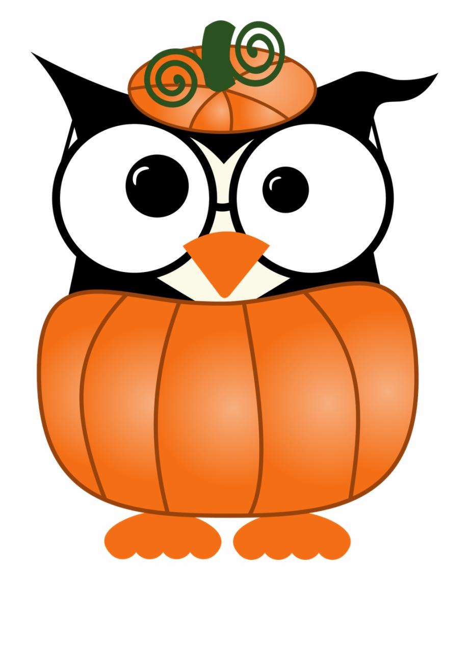 Whimsical owl clipart.