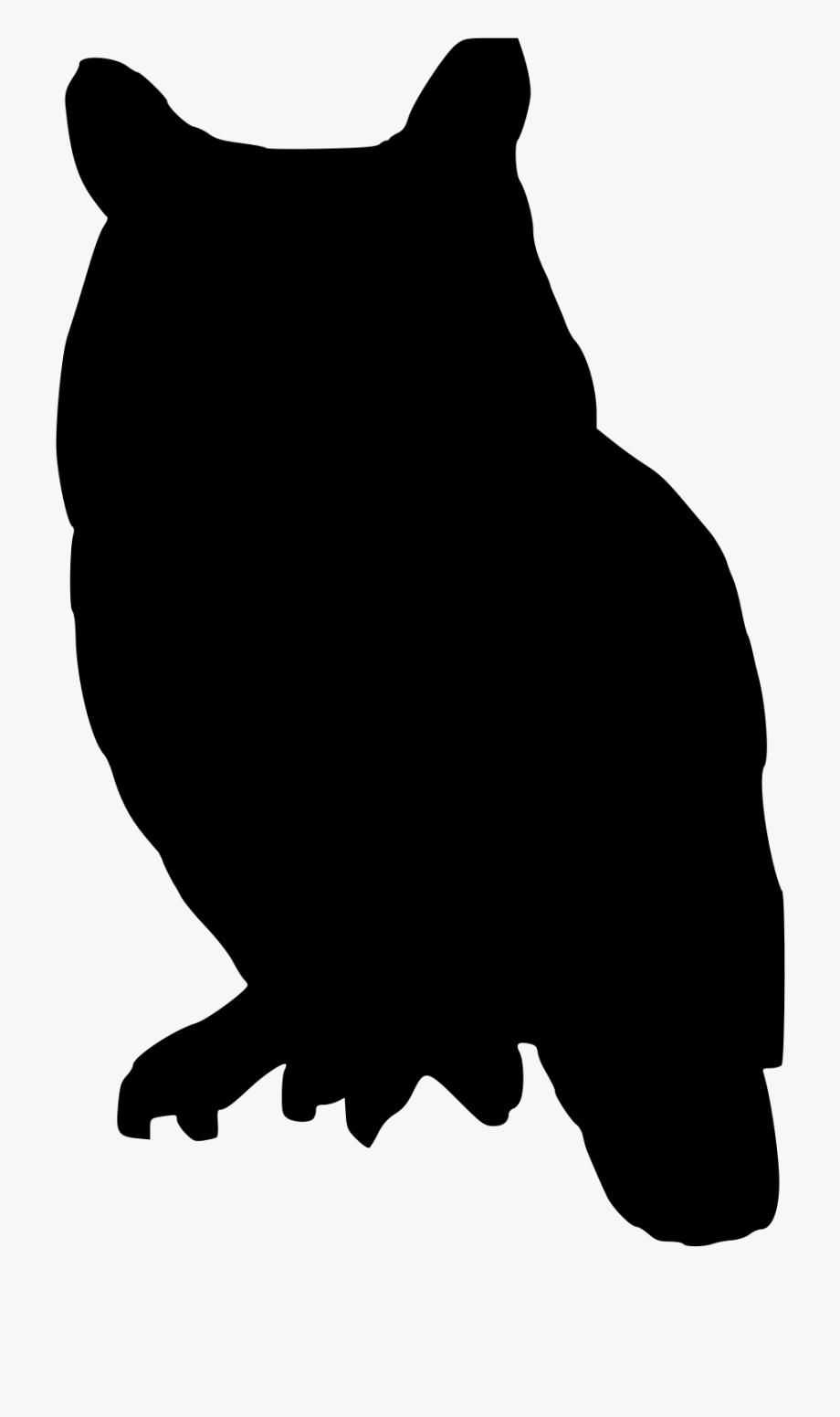 Owl Clip Art Silhouette