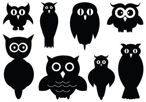 owl clipart vector