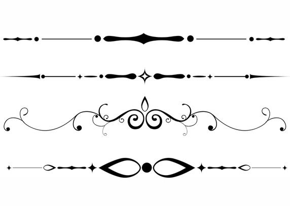 Free downloadable dividers.