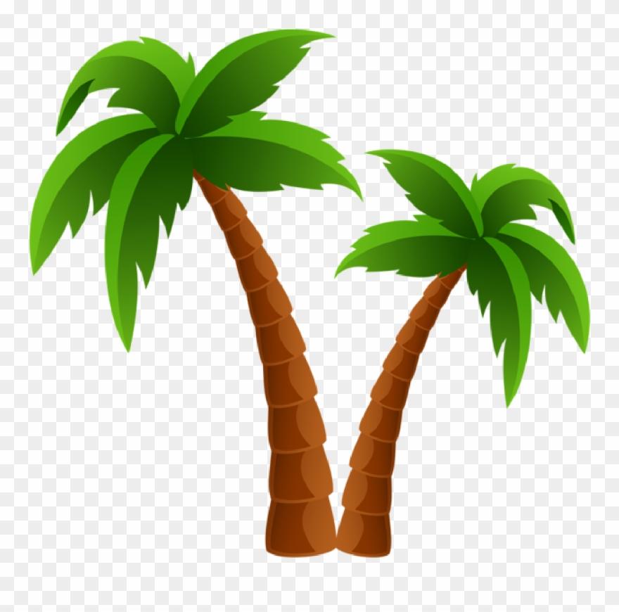 Palm tree clip.