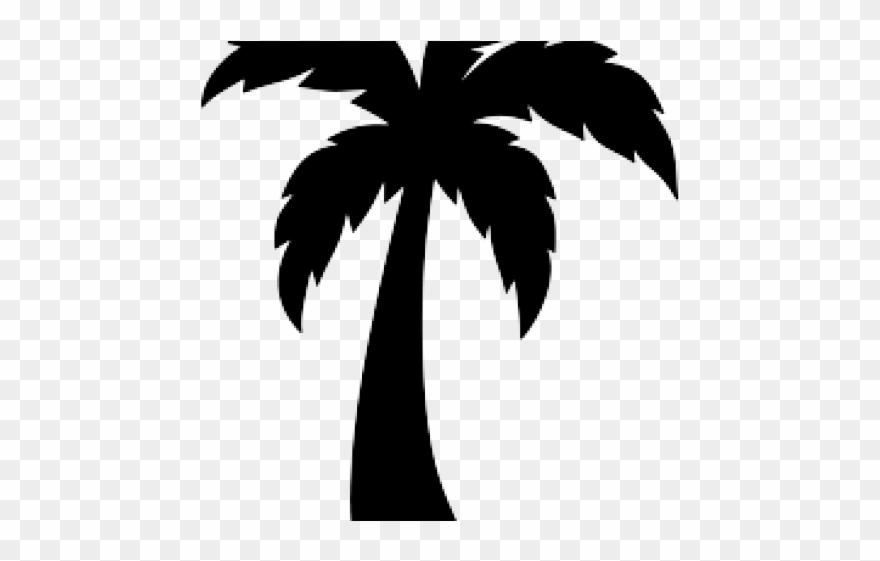 Skyline clipart palm.