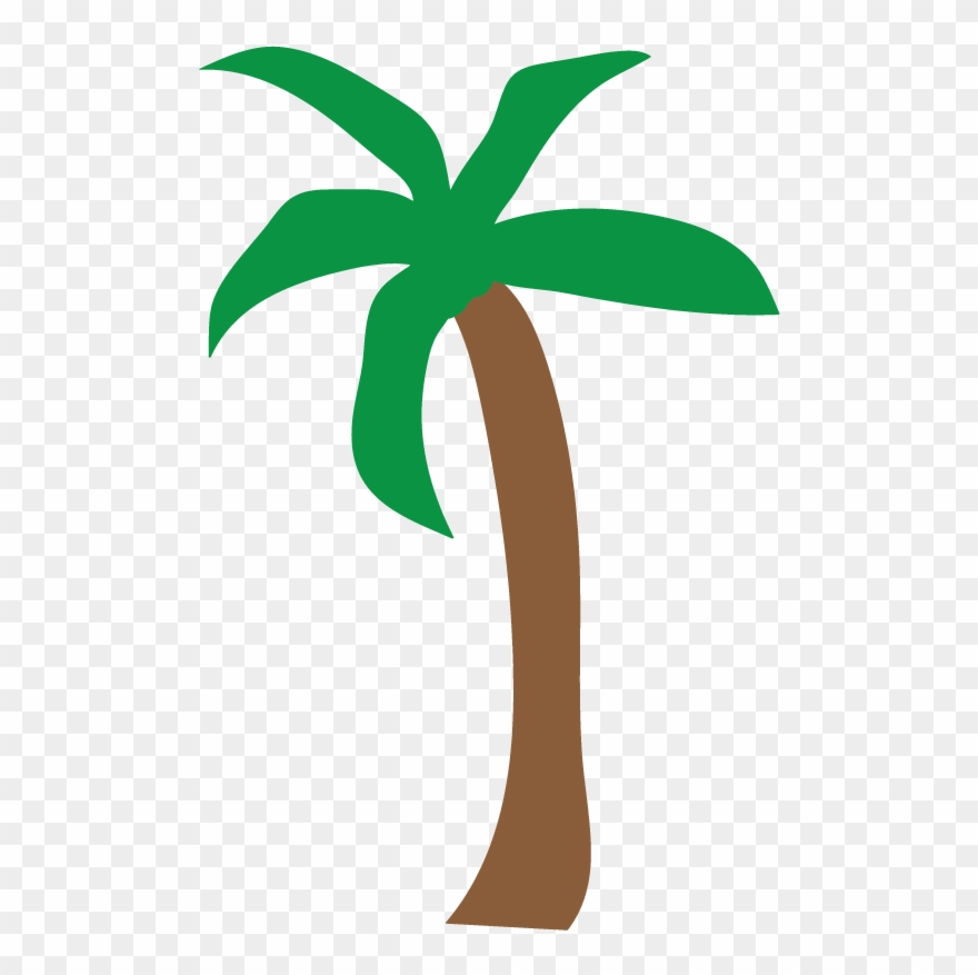 Luau Palm Tree Clip Art