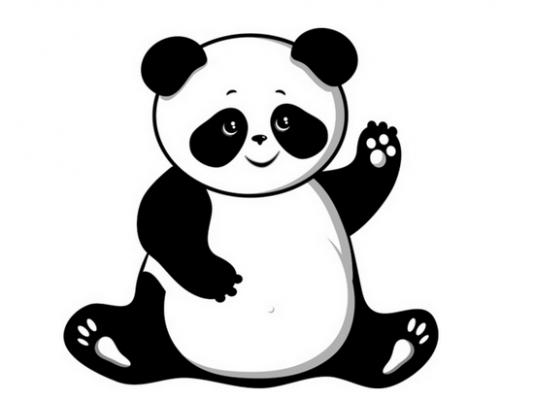 Red panda clip.