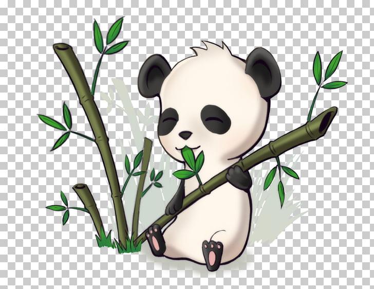 Giant panda chibi.