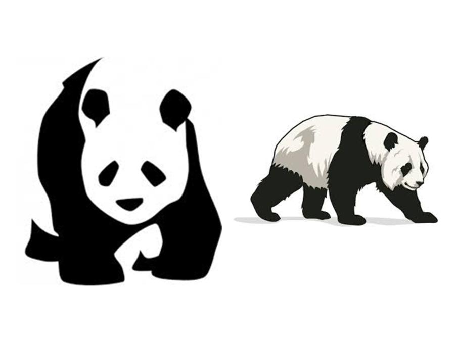 Panda Drawing clipart