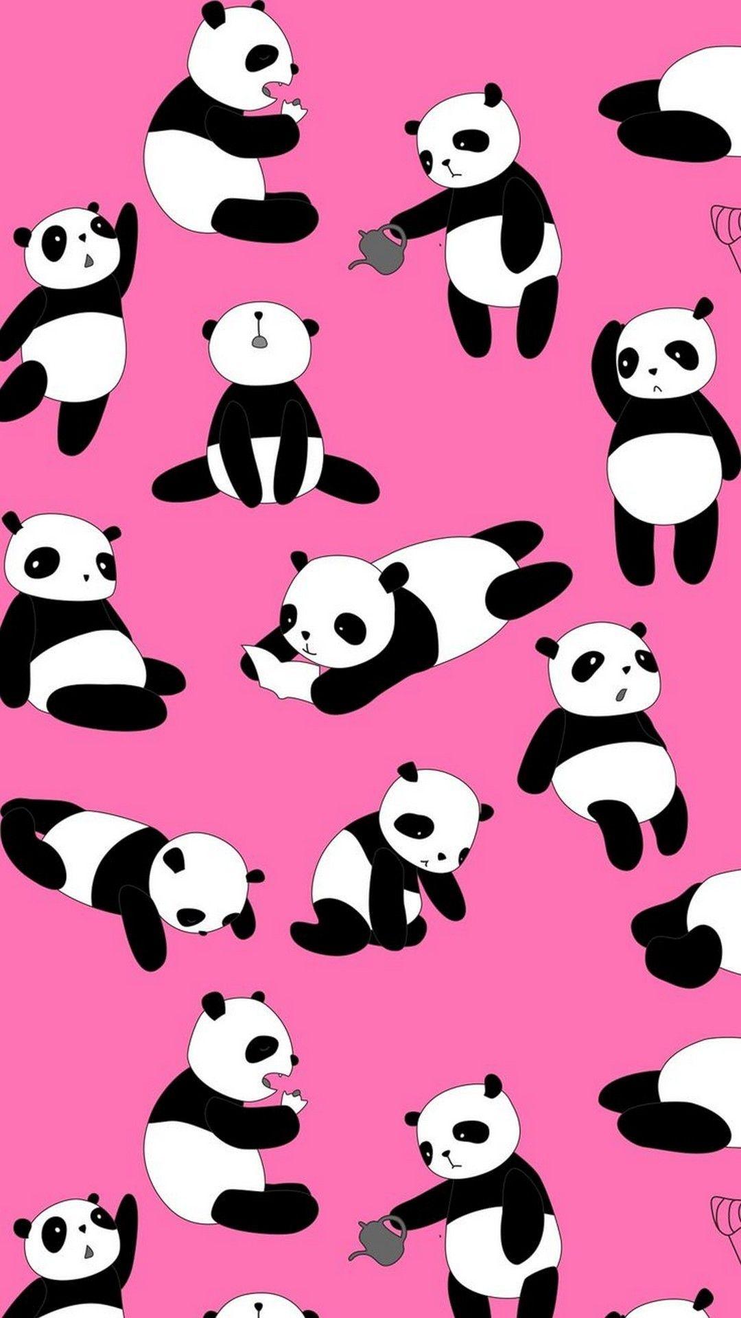 40 pink panda.