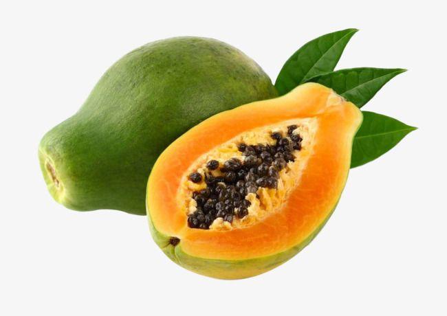 Green Papaya, Papaya, Fruit, Melon Fruit PNG Transparent