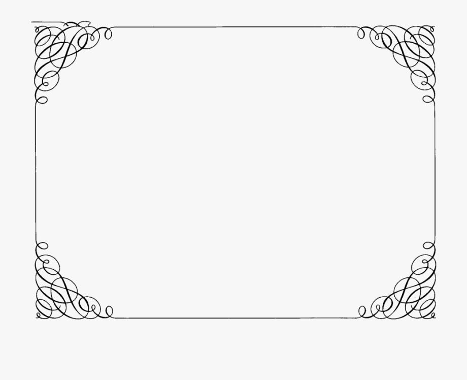 Pin Fancy Border Frame Clipart