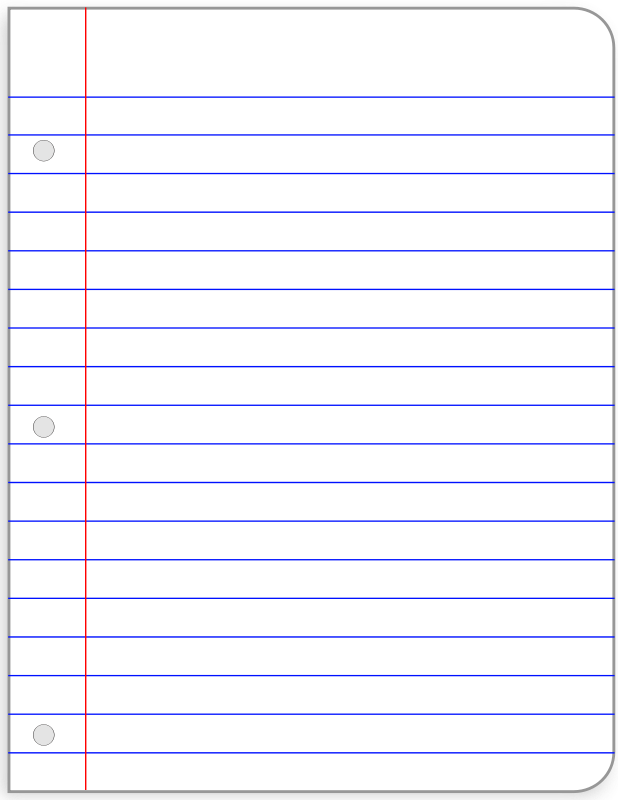 Printable lined paper.