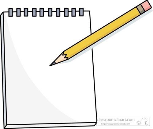 Paper Clipart Pencil