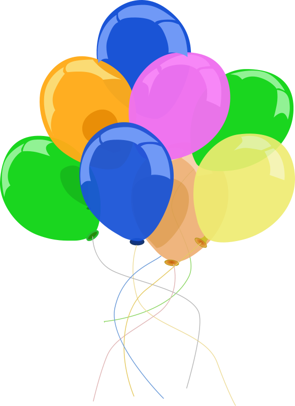 Free Party Balloons Clipart, Download Free Clip Art, Free