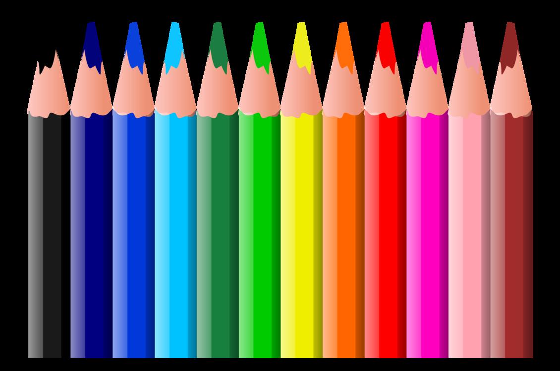 Color pen cliparts.