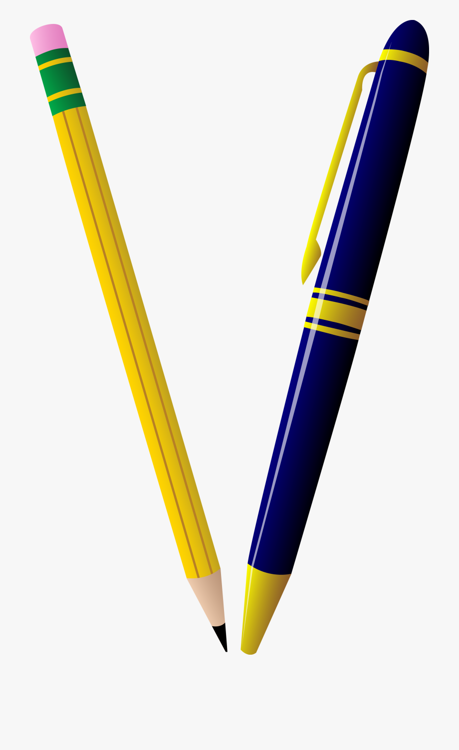 Number clipart pencil.