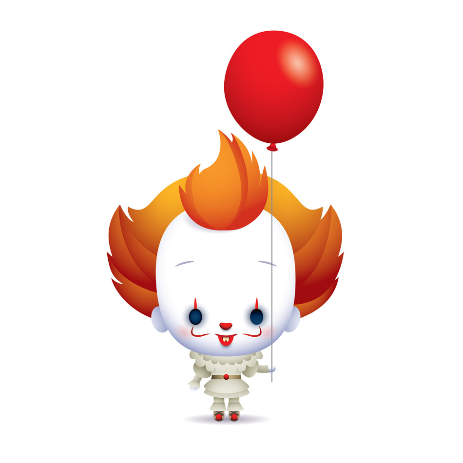 Balloon clipart pennywise.