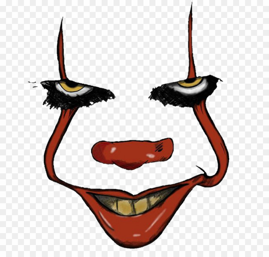 Pennywise face picsart.