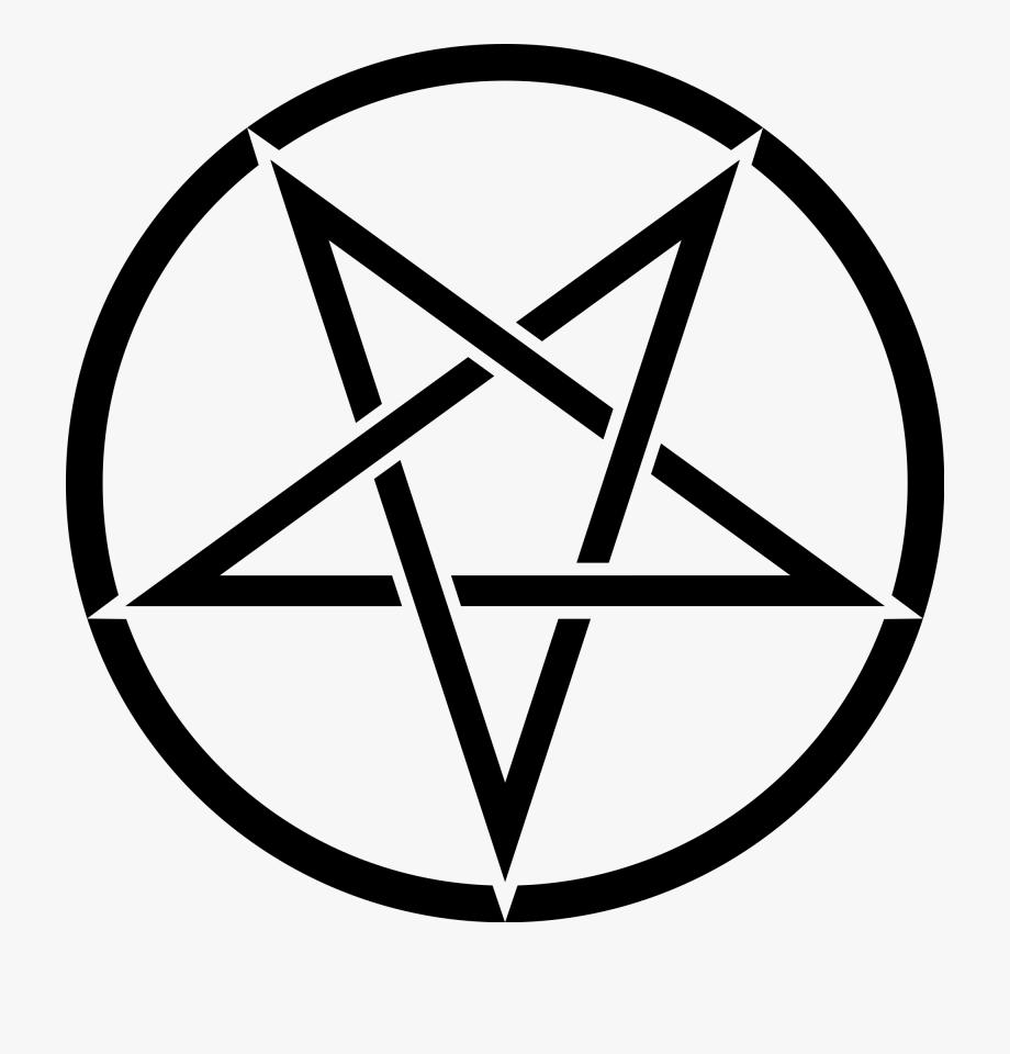 Drawing pentagram illuminati.