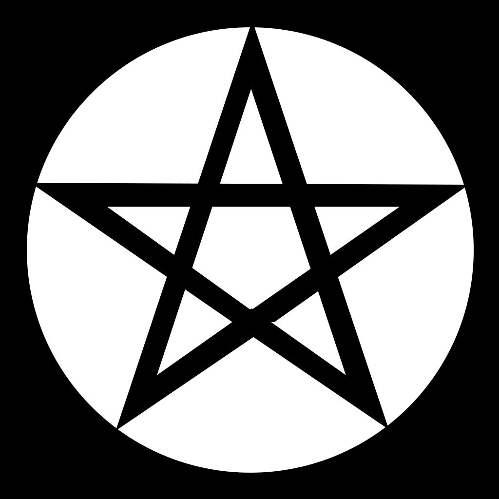 The pentagram symbol.